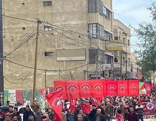 الديمقرطية تحيي انطلاقتها الـ51 بمسيرة ومهرجان جماهيري بغزة