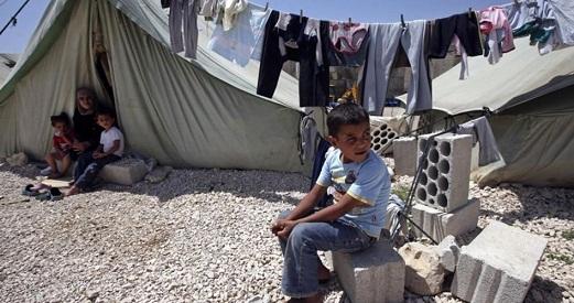 هجرة اللاجئين الفلسطينيين من مخيمات سورية خلال النزاع المسلح الحالي