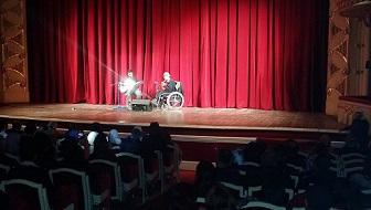 معوّقون فلسطينيون يشاركون بالمهرجان الدوليّ للموسيقيّين والمبدعين من ذوي الإعاقة