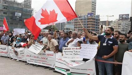 السفارة الكندية في بيروت: لا نقبل طلبات اللجوء بشكل مباشر