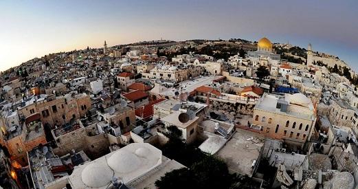 خارطة المعالم الإسلامية والمسيحية في القدس المحتلة