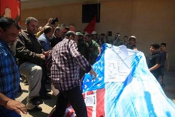 مسيرات في مخيّمات لبنان تنديداً بنقل السفارة الأميركية إلى القدس ونصرة لفلسطينيي الداخل المحتل