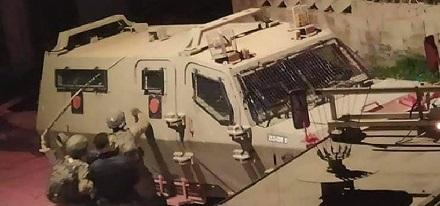 قوات الاحتلال تشن حملة اعتقالات في الضفة وتصيب عدداَ من المواطنين في نابلس