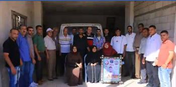 اللجنة الشعبيّة في مُخيّم خانيونس تنظم سلسلة زيارات لأهالي الأسرى