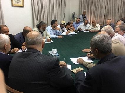 الديمقراطية تشارك في اجتماع اللجنة التحضيرية ليوم القدس العالمي