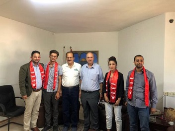 أشد يبحث ملف تفعيل الاتحاد العام لطلبة فلسطين