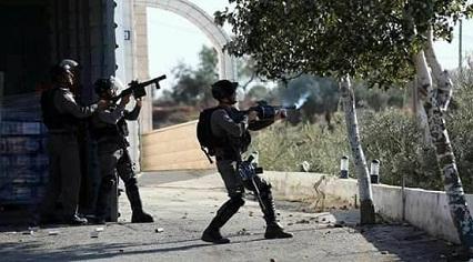 اندلاع مواجهات واطلاق رصاص حي في مخيم العروب