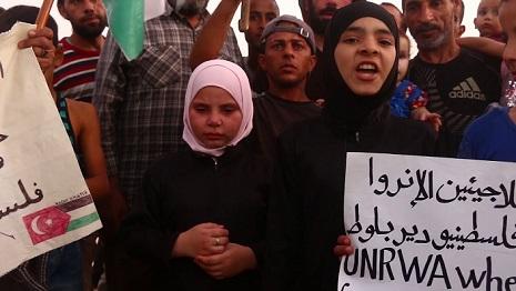 مناشدات لإنهاء معاناة الفلسطينيين في مخيم دير بلوط بعفرين السورية