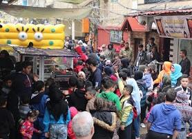 جمعية باليستا بالتعاون مع موقع عاصمة الشتات ينظمون كرنفال بعين الحلوة