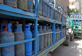 النازحون الفلسطينيون في قدسيا وصحنايا يشكون أزمة الغاز