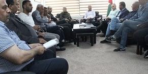 ابو هولي الادارة الامريكية تبيع الأوهام للعالم باقتراحها إعادة بناء مخيمات اللاجئين في الضفة كمدن دائمة للفلسطينيين