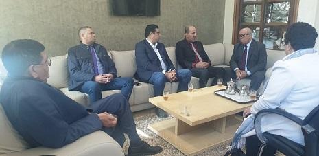 يوسف احمد: يلتقي رؤساء اللجنة البرلمانية لدعم فلسطين في مجلسي النواب والمستشارين المغربي.