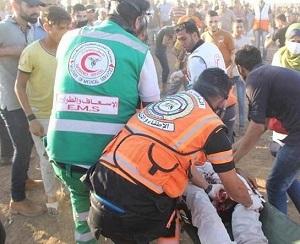إصابة برصاص جيش الاحتلال شرقي مخيم البريج