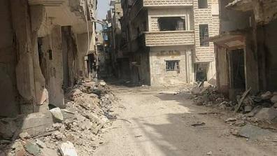إدخال عيادة طبية متنقلة إلى مخيم اليرموك