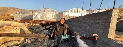 جيش الاحتلال يهدم أربع غرف سكنية في